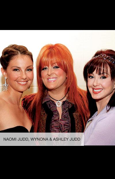 Naomi Judd, Wynona & Ashley Judd