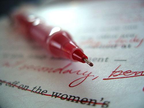 July editor pen