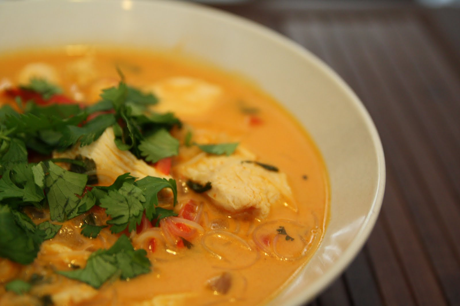 Main Course: Thai Chicken Soup : Wiles Magazine