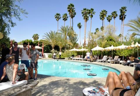 Harper's BAZAAR Hosts Coachella Poolside Fete At The Parker Palm Springs