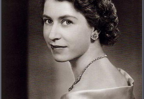 Queen Elizabeth portrait