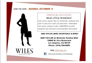 Dress for Success 2013 Save the Date