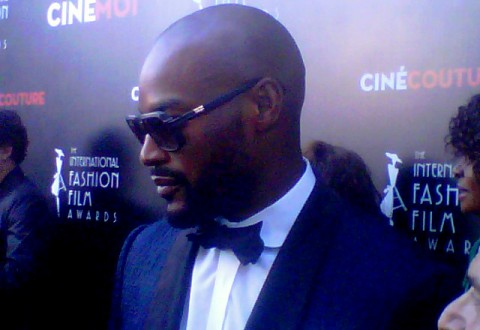 Model Tyson Beckford attends Cinemoi's International Fashion & Film Awards