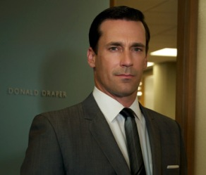 Jon Hamm stars as Don Draper in the AMC series Mad Men