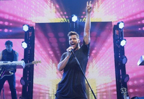 Ricky Martin performs at iHeart Radio Fiesta Latina/Photo by Andrew Swartz