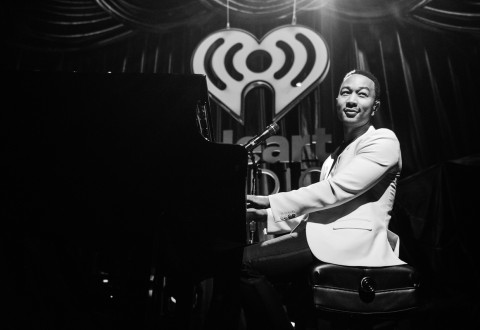 John Legend performs at the iHeart Radio Ultimate Valentine's Escape - Photo by Brian Friedman