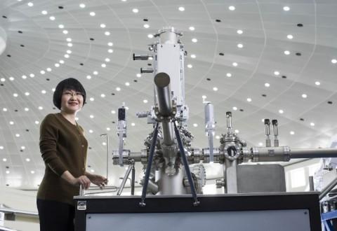 Professor Yi Xie, Laureate of the 2015 L'Oréal-Unesco For Women in Science Award. Photo copyright Brigitte Lacombe.