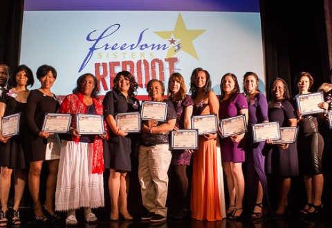 "The March 2015 Graduating Class of Ford Freedom's Sisters REBOOT - Photo by Louis ""Kengi"" Carr"