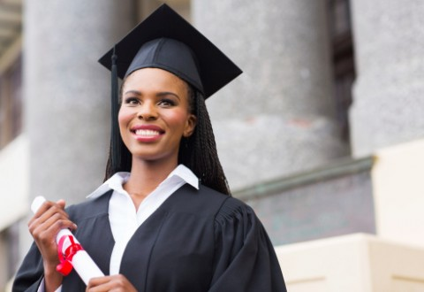 Black-female-graduate