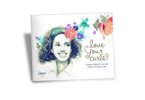 Dove Hair Love Your Curls Book