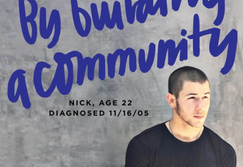 Nick Jonas teams up with Juliet De Baubigny, Sarah Lucas and Sam Talbot to launch BEYOND TYPE 1, a non-profit dedicated to diabetes awareness (PRNewsFoto/BEYOND TYPE 1)