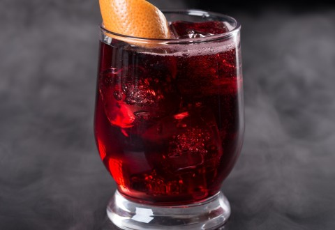 Brockmans Gin Charmed Ruby Cocktail (PRNewsFoto/Brockmans Gin)