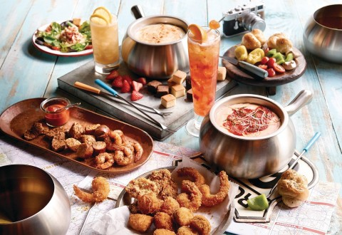 The Melting Pot's Fondue Across America limited-time menu (PRNewsFoto/The Melting Pot Restaurants)