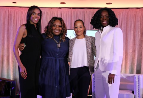2016 MergeSummit-MichelleWilliams,TashaCobbs,EssenceAtkins,Dr. Thema Bryant Davis
