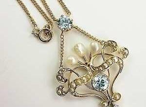 Victorian Necklace (PRNewsFoto/Topazery)