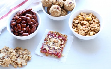 Marisa Moore, RDN shares heart-smart snacks in honor of Almond Day.