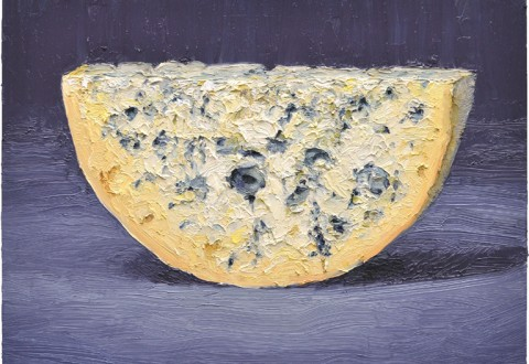 Artwork from renowned cheese artist, Mike Geno and paintings of pastries from well-known America artist Wayne Thiebaud are on display at St. Supery Estate Vineyards throughout the month of April