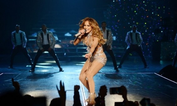 Jennifer Lopez performs in Las Vegas/Photo By Mighty Travels