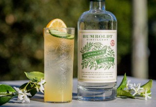 Hemp Highball Cocktail (PRNewsfoto/Humboldt Distillery)