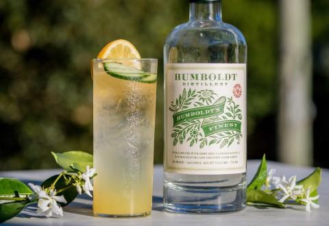Hemp Highball Cocktail (PRNewsfoto/Humboldt Distillery)
