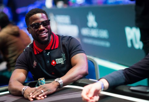 Kevin Hart Announces Partnership With PokerStars at the PokerStars Championship in Monte Carlo (PRNewsfoto/PokerStars)
