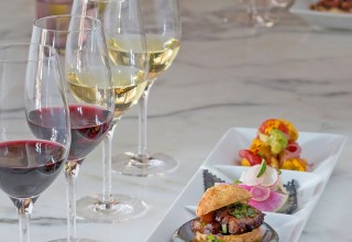 Farm-to-table wine and food experiences abound at California wineries. Ram's Gate Winery in Sonoma County offers a guided, seated tasting of four single-vineyard wines alongside their culinary pairings. (PRNewsfoto/Wine Institute)