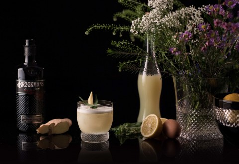 Brockmans Gin Herbal Sour