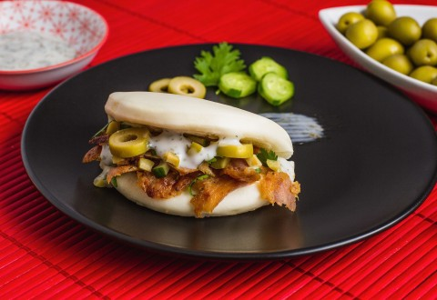 Olives Lamb Bao (PRNewsfoto/Olives from Spain)