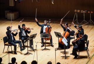 Concert-Tchaikovsky's String Sextet (PRNewsfoto/Shanghai Conservatory of Music)