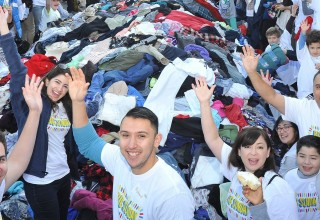 Big Sunday MLK Day Clothing Collection & Community Breakfast 2016 (PRNewsfoto/Big Sunday)