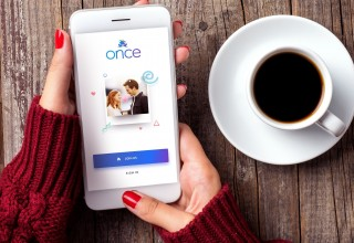 Europe's hottest dating app launches in U.S. with first-ever rating feature for women (PRNewsfoto/Once)