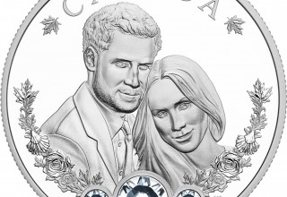 Royal Canadian Mint - Royal Wedding of Prince Harry and Ms Meghan Markle