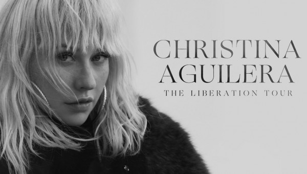 Christina Aguilera Announces First Tour In Over A Decade Will Travel Across North America This Fall (PRNewsfoto/Live Nation Entertainment)