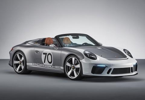 911 Speedster Concept - Front 3/4 (PRNewsfoto/Porsche Cars North America, Inc.)